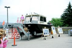 One of the Great Lake Shipwreck Museum's Survey Vessels. Used to wonder the depths of Lake Superior in search for artifacts in Sault Ste. Marie, MI.