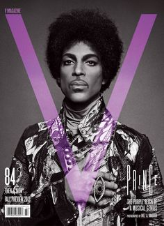 Prince Is A Purple Harbinger Of Light & Dreams For V Magazine