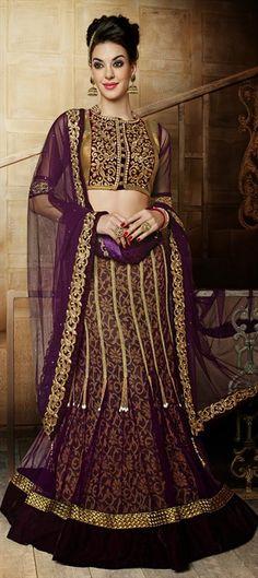 155228: MY BRIDE   #Lehenga #IndianFashion #IndianWedding #Partywear #WeddingCouture #Springsummer2015 #OnlineShopping