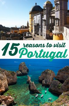 There are many reasons to visit Portugal, and those who come for tourism or to live in here know how easy it is to fall in love with this country. So that, we listed 15 reasons why everyone should know (and love) Portugal! Check it out! Visit Portugal, Unique Hotels, Online Travel, Algarve, Lisbon, Travel Guide, Tourism, Love, Country