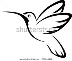 Hummingbird Silhouette Stock Photos, Images, & Pictures | Shutterstock