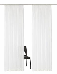 Gardine, my home, »Arvida« (2 Stück) ab 9,98€. Halbtransparenter Stoff, Leicht glänzend, Leichte Qualität, bis Höhe 295 cm erhältlich bei OTTO