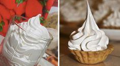 Najlepší recept na bielkový krém s úplne famóznou chuťou! Frosting, Icing, Food Decoration, Something Sweet, Carrot Cake, Love Food, Creme, Deserts, Goodies