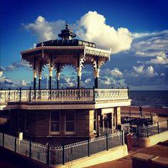 "@jessashworth's photo: ""Bandstand #brighton #bandstand #clouds #beach"""