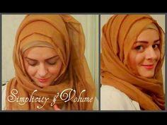 Hijab tutorial : simplicity & volume