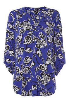 Floral Jersey Shirt