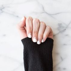 Summer's white-hot nail trend, upgraded.