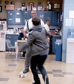 If I run at terry, he will most certainly catch me in his arms