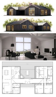 Digging the floor plan, would probably change the building materials and overall style of the house though.