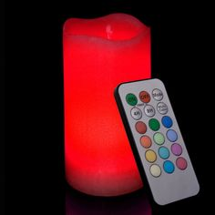 candle with remote - switch on - made of wax on the outside - perfect for events Hanging Candle Chandelier, Bronze Chandelier, Chandelier Ideas, Floating Candles, Pillar Candles, Wedding Pillars, Decorative Pillars, Rectangular Chandelier, Pillar Candle Holders