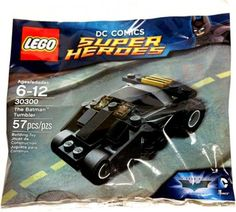 DC Comics Super Heroes The Batman Tumbler Lego Polybag series 30300 Batman Lego Sets, Lego Marvel's Avengers, Batman Figures, Batman Dark, Batman The Dark Knight, Batman Batman, Lego Dc, Dc Comics, Lego Space Sets