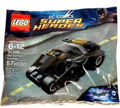 DC Comics Super Heroes The Batman Tumbler Lego Polybag series 30300 Batman Lego Sets, Lego Marvel's Avengers, Batman Figures, Lego Dc, Buy Lego, Batman Dark, Batman The Dark Knight, Batman Batman, Dc Comics