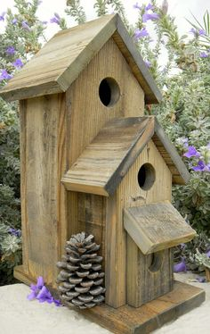 23 DIY-Vogelhaus-Pläne, die sie in Ihren Garten locken 23 DIY Birdhouse Plans That Lure Them Into Your Garden 23 DIY Birdhouse Plans That Lure Them Into Your DIY Birdhouse Plans That Lure Them Into Your Garden Posted on at # – Bird House Plans, Bird House Kits, Decorative Bird Houses, Bird Houses Diy, Homemade Bird Houses, Bird House Feeder, Bird Feeders, Birdhouse Designs, Birdhouse Ideas