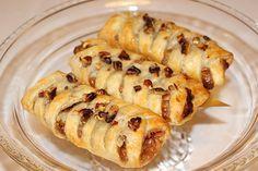 Wienerpekan. Delikata wienerbröd med pekannötter och lönnsirap.