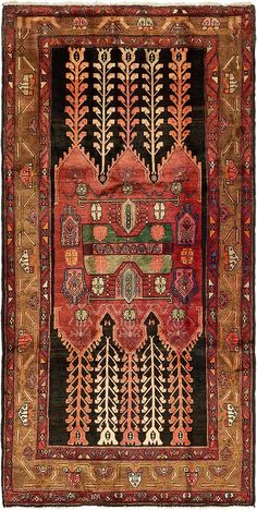 Black 10 x 9 Koliaei Persian Runner Rug , Carpet Runner, Rug Runner, Buy Rugs, Magic Carpet, Hand Knotted Rugs, Persian Rug, Kilim Rugs, Runes, Textile Art