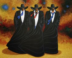 AMERICAN JUSTICE cowgirl and cowboy painting by Lance Headlee http://lance-headlee.artistwebsites.com/featured/american-justice-lance-headlee.html see more Lance Headlee original western paintings at http://lanceheadlee.com/category/contemporary-western-collection/