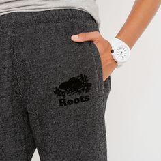 Black Pepper Roots Sweatpants | Roots