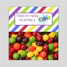 Instant Download ~ Treat Bag Toppers 5.00