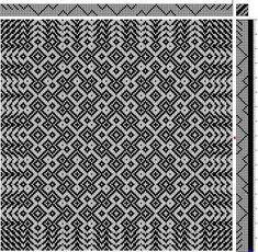 Image result for 8-shaft Maltese cross twill