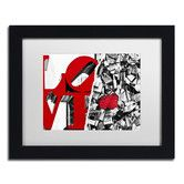 Found it at Wayfair - Love by Philippe Hugonnard Framed Photographic Print