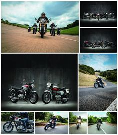 A partir desta terça-feira, dia 10 de maio, as concessionárias Triumph iniciam a pré-venda de três novos modelos de motocicletas da linha Bonneville, apresentada mundialmente no final do ano passad…
