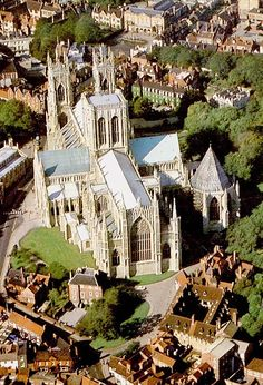 York Minster, York, England.