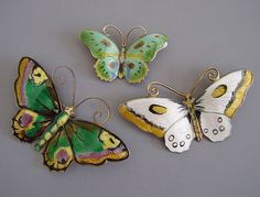 Guilloche butterflies by David Anderson