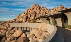 Gorgeous 'Jetsons-Meets-Flintstones' Manor is 'Pure Dope' - On the Market - Curbed National-- Drove by there once... beautiful home