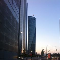 It used to be a soccer tipch. Paseo Castellana. Madrid. Spain