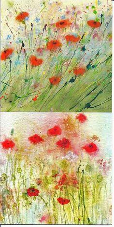 Sue Fenlon: Poppies