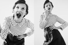 'Stranger Things' Star Millie Bobby Brown Is Here to Stay Photos | W Magazine