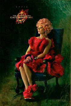 hunger games - catching fire   Effie Trinket