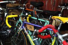YMT Wauhtiajot 2013. Vintage bike. Bianchi. Photo by Elina Simonen.  http://www.yhdenmiehentyyli.com