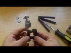 How to build an inexpensive bicycle camera mount - YouTube