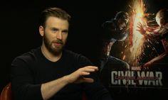 The stars and directors of Captain America: Civil War – including Chris Evans, who plays the Marvel Comics superhero – talk to Benjamin Lee