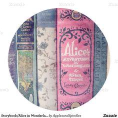 Storybook/Alice in Wonderland Paper Plate