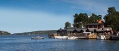 Take a 25min boat ride to the beautiful island of Stora Fjäderholmen where you can enjoy a local dish by the waterfront.  www.papakata.co.uk