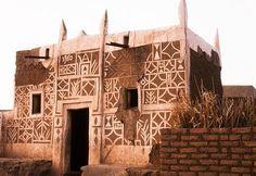 Houssa architecture, Zinder, Nigeria