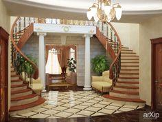 Классический образ /2010: интерьер, зd визуализация, прихожая, холл, вестибюль, фойе, квартира, дом, классика, ампир, неогрек, палладианство, 20 - 30 м2, интерьер #interiordesign #3dvisualization #entrancehall #lounge #lobby #lobby #apartment #house #classicism #20_30m2 #interior arXip.com