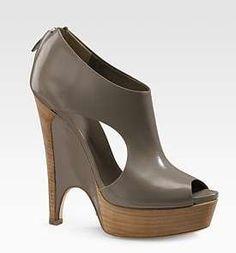 Image detail for -So Bella! Gucci Clemence Platform Wedge Sandals – bellemel