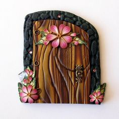 An extremely beautiful fairy door