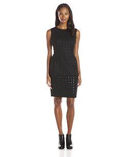 Wear To Work Womens Sheath with Stud Layout www.weartowork.us #weartowork #dress