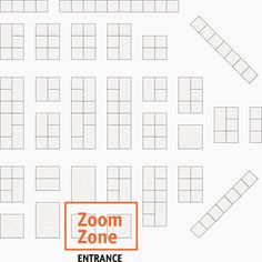 EXHIBITOR magazine - Selecting Booth Space. The Zoom Zone - the kiss of death — where attendees zip past in search of their must sees