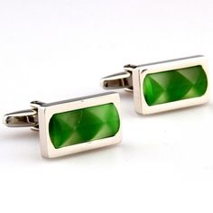 Share this with your friends and receive a 5% copon.Click here to wirte your message. Green Fiber Optic Architecture mens Rectangle Cufflinks