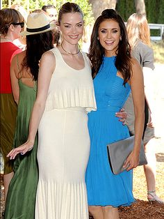 Star Tracks: Monday, October 19, 2015 | POLO PALS | Also at Saturday's Polo Classic: Jaime King and Nina Dobrev, who get all dressed up.