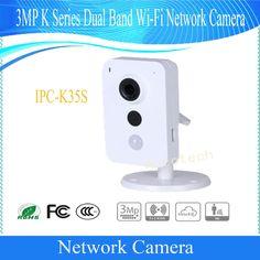 Free Shipping DAHUA Security WIFI Camera CCTV 3MP K Series Dual Band Wi-Fi Network Camera without Logo IPC-K35S #Affiliate