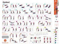 Ćwiczenia z gumami dla każdego (trening w domu). Zobacz 7 przykładów! - GO Blog At Home Workouts, Sheet Music, Gym, Blog, Sporty, Google, Creative, Image, Per Diem