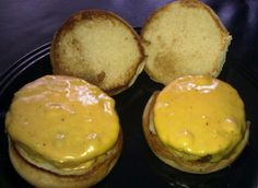 Home-cooked burgers courtesy of Omaha Steaks. Omaha Steaks, How To Cook Burgers, Burger Recipes, Muffin, Cooking, Breakfast, Food, How To Cook Hamburgers, Kitchen