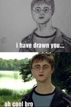 Funny humor laughing so hard awkward moments harry potter Ideas Memes Do Harry Potter, Harry Potter Drawings, Can't Stop Laughing, Laughing So Hard, Stupid Funny Memes, Funny Humor, Funny Stuff, Random Humor, Funny Fails