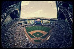 Miller Park, home of the Milwaukee Brewers